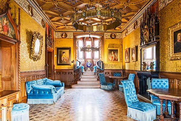 ปราสาทโฮเอินท์ซ็อลเลิร์น (Hohenzollern Castle: Burg Hohenzollern)