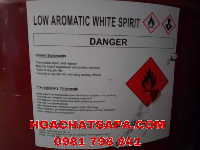 DUNG MÔI 3040-LOW AROMATIC WHITE SPIRIT