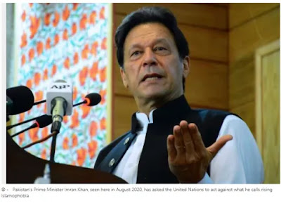 The Prime Minister of Pakistan has condemned the cartoons of 'Islamophobic' Charlie Hebdo