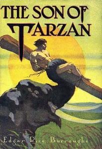 Tarzan fia az eredeti könyvborító