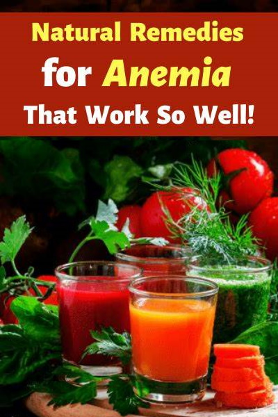 15 Effective Home Remedies To Treat Anemia Naturally