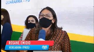Vereadora Rosane Emídio critica cerimonial por tê-la ignorado durante inauguração do residencial Jáder Pimentel