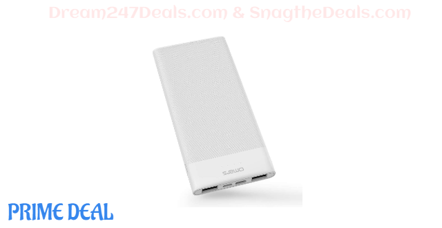 50% OFF  mini power bank with cable