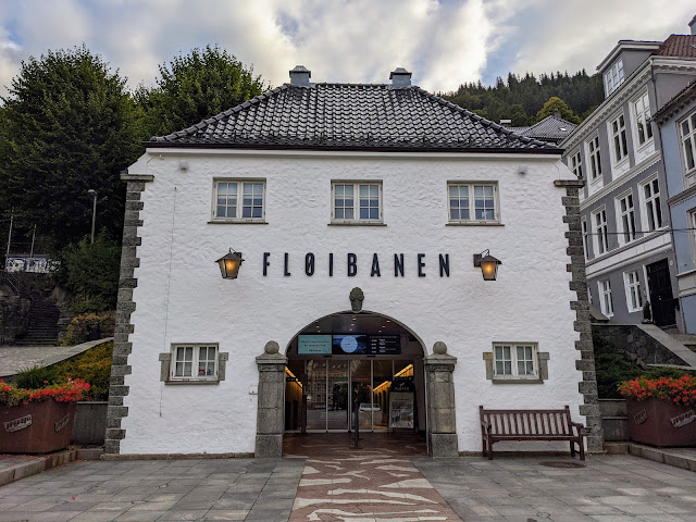 Things to do in Bergen: Ride the Floibanen funicular