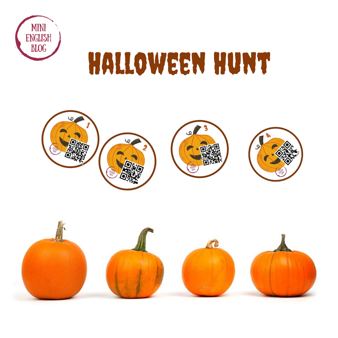 Halloween Hunt dla klas 1-3