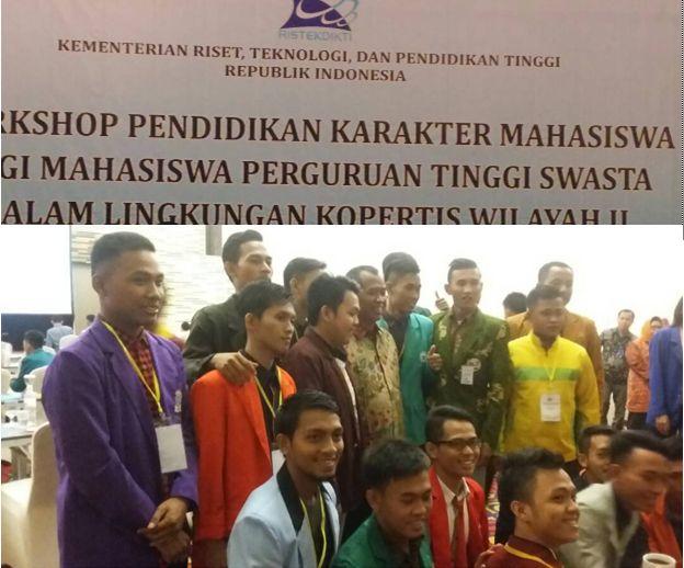 Ketua BEM Terpilih Ikuti Workshop Pendidikan Karakter Mahasiswa stapbaak