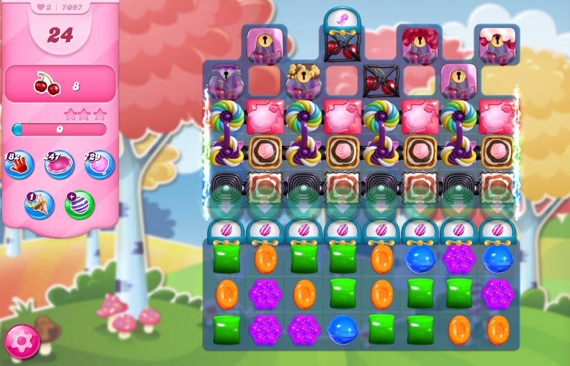 Candy Crush Saga level 7097