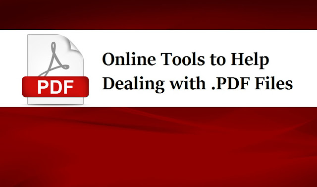 online tools to help dealing with pdf files at worklace
