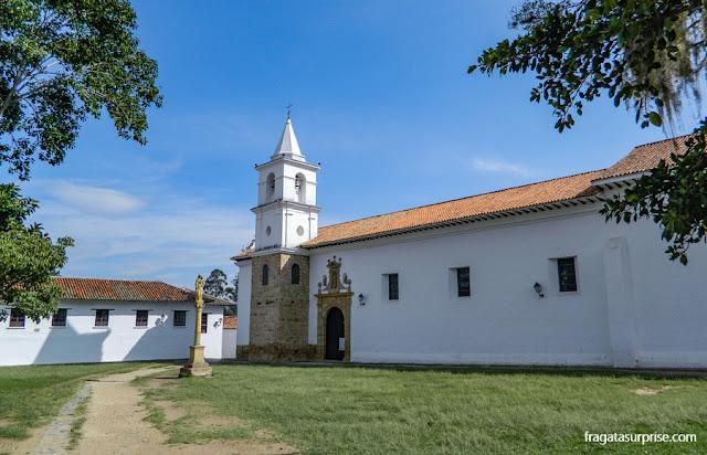 Igreja de El Cármen, em Villa de Leyva, Colômbia