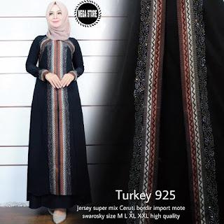 Gamis Turkey Model Terbaru 2019