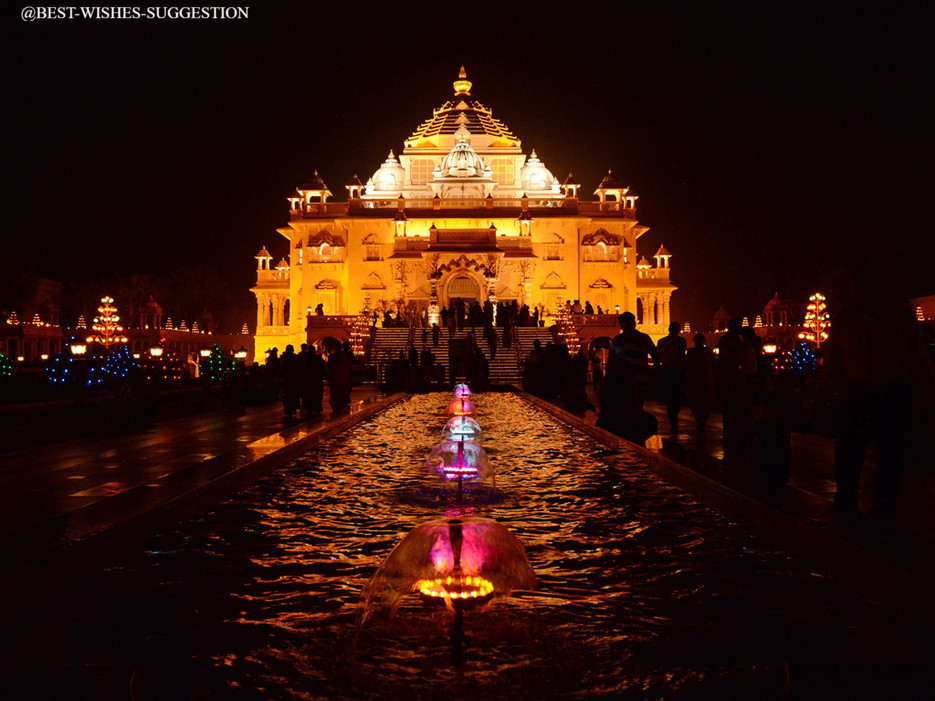 Happy-Diwali-Images-Temple