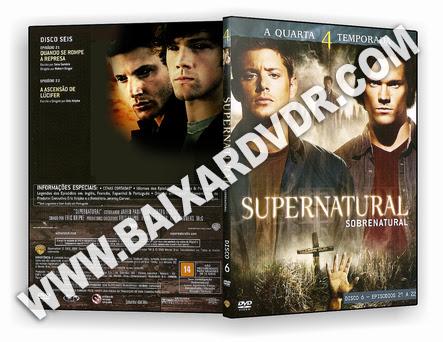 Supernatural – 4ª Temporada Completa (2006) DVD-R OFICIAL