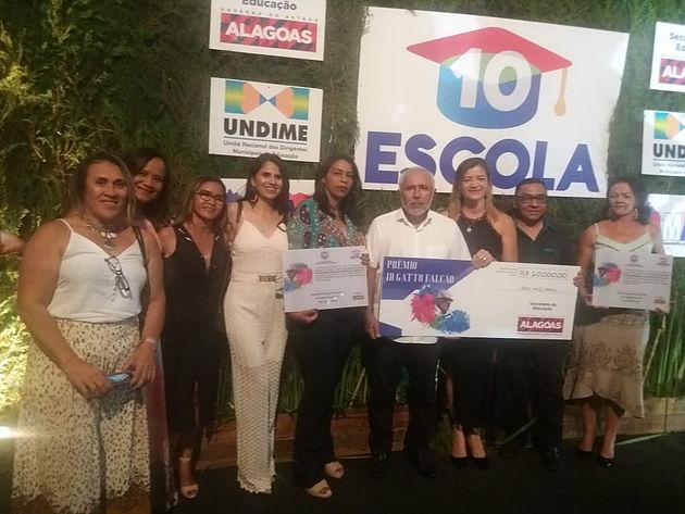 Prêmio Professor Ib Gatto Falcão é entregue a escolas municipais de Delmiro Gouveia