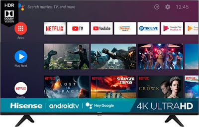 "Hisense - 65"" Class H6510G Series LED 4K UHD Smart Android TV"