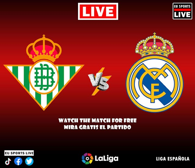 EN VIVO | Real Betis vs. Real Madrid, Jornada 3 de la Liga Española 2021 | Ver gratis el partido