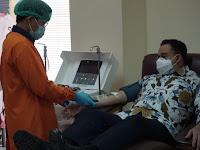 Sembuh Dari Covid-19, Anies Donorkan Plasma Darahnya