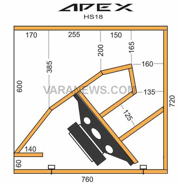 Speaker horn sub APEX
