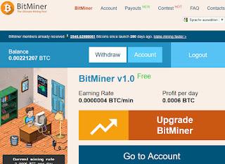 MAKE MONEY ONLINE AT BITMINER