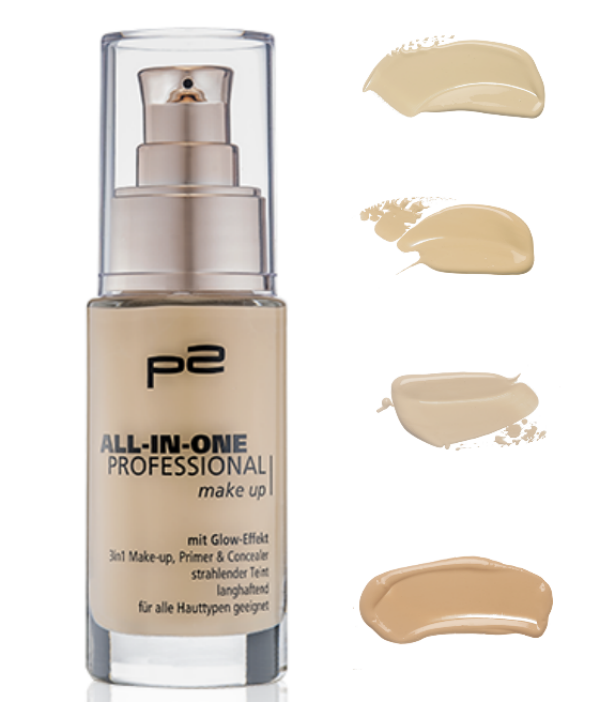 p2 all in one professional makeup