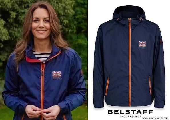 Kate Middleton wore Belstaff INEOS Team UK Britannia Windbreaker Jacket