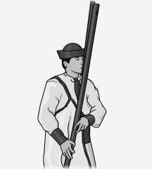 monochrome illustration : fujara