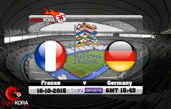 مشاهدة مباراة فرنسا وألمانيا اليوم 16-10-2018 دوري الأمم الأوروبية