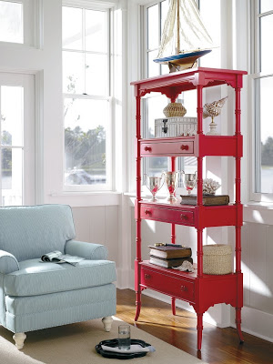 up cycling furniture, red furniture, 4th of july furniture