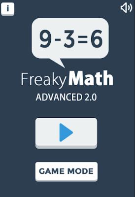 online math flash card game