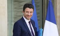 Le député européen du RN n'a pas apprécié la sortie du candidat LREM aux municipales à Paris.
