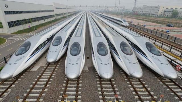 China fabricará un tren bala capaz de alcanzar los 1000 km/h