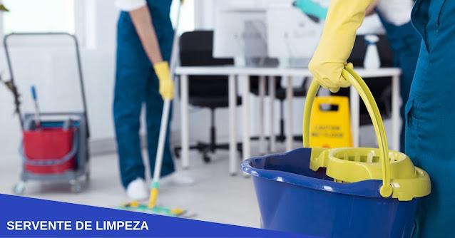 servente de limpeza curitiba