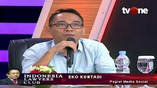 Tweet Eko Kuntadhi Lebih Jahat dari Cuitan Paha Mulus, Prabowo Diminta Bersikap