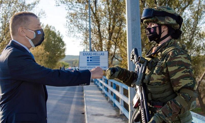 Επίσκεψη Υφυπουργού Εθνικής Άμυνας Αλκιβιάδη Στεφανή στον Έβρο