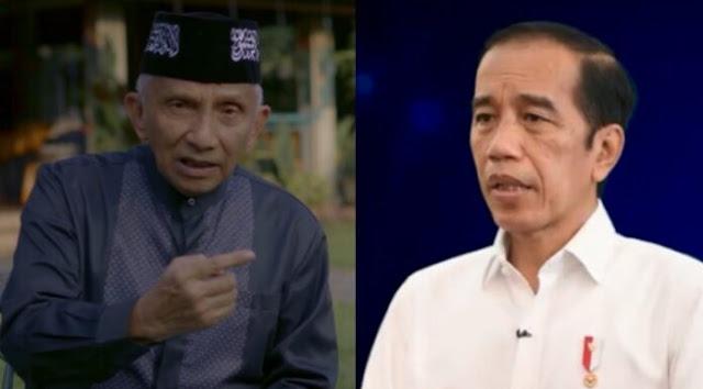 Banyak Presiden yang Dipenjara dan Ditembak, Amien Rais: Ini Wanti-wanti untuk Pak Jokowi