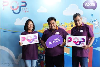 AXIS Pop-Up Station, Wadah Anak Muda Kreatif di Bandung