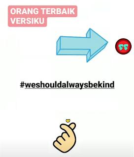 #WeShouldAlwaysBeKind