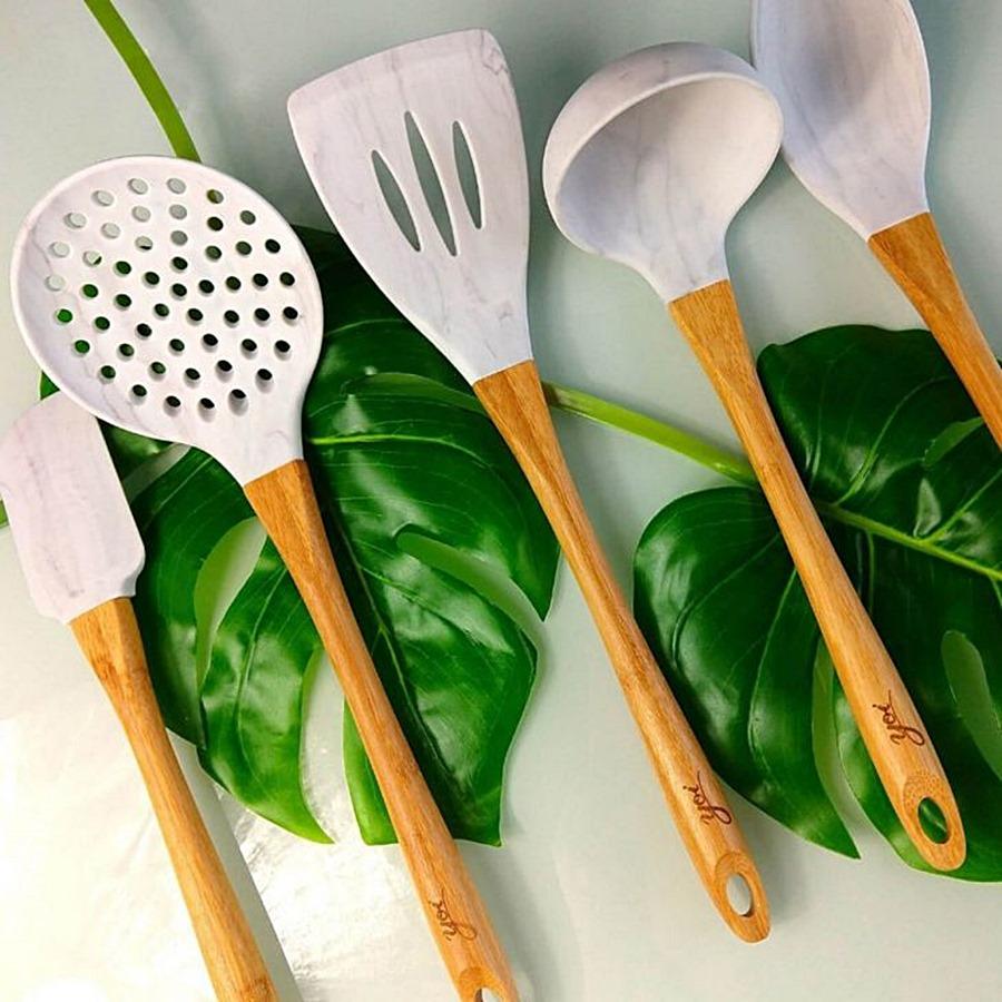 Talheres de bambu: a opção mais segura para a sua cozinha!