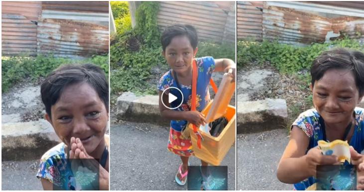 Isang PWD nakita sa daan na naglalako ng ice candy, binigyang tulong ng isang netizen