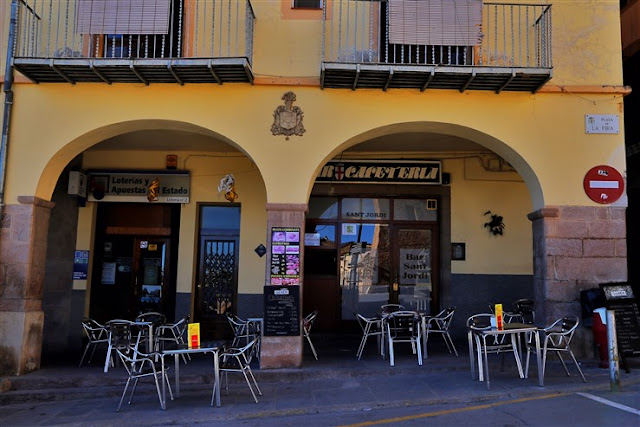 coffee cafe sant jordi cardona spain