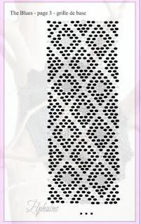 Браслет из бисера темный шик. схема