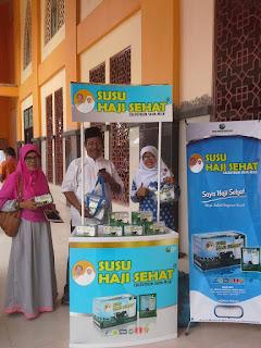 Pelepasan Calon Jamaah Haji Kab. Padang Pariaman bersama GEMAHATI & SUSU HAJI SEHAT, Sumatera Barat
