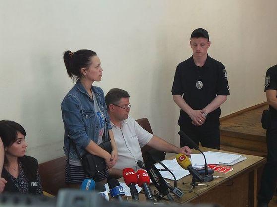 """Суд взяв під варту підозрювану в нападі на """"кіборга"""" Вербича"""