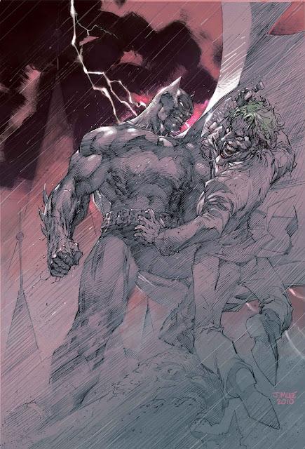 Batman Europa Jim Lee cover
