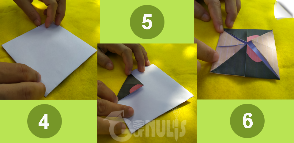 Origami Cootie Catcher, Media untuk Mengajak Siswa Bercerita, gurnulis.id