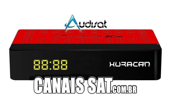 Audisat K20 Huracan Nova Atualização V2.0.55 - 14/08/2020