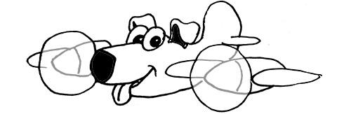 Fliegen mit dem Hund
