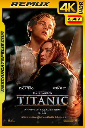 Titanic 1997 4K BDRemux Latino – Castellano – Inglés