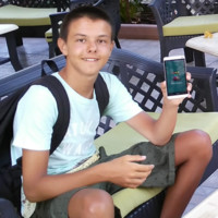 Radostin, a 13-year-old programmer from Bulgaria