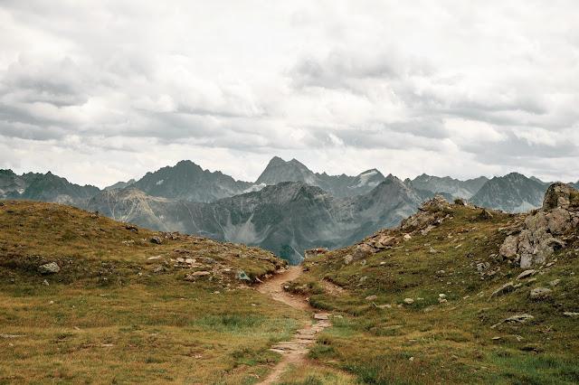 Alpenrosensteig vom Fisser Joch nach Fiss  Wanderung Serfaus-Fiss-Ladis 6