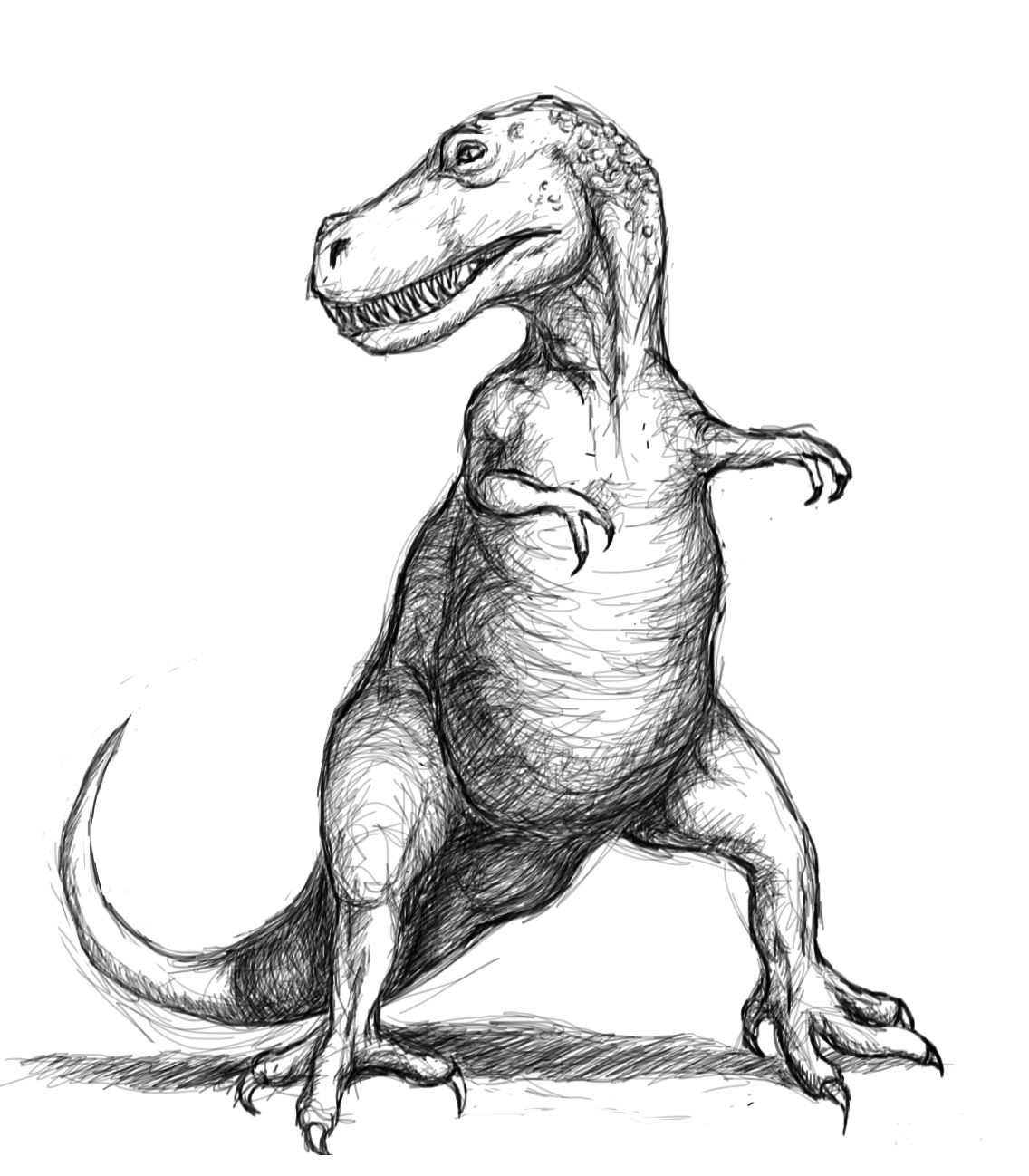 3 Eyed Johnny S T Rex Arms
